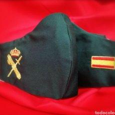 Militaria: MASCARILLA BORDADA GUARDIA CIVIL.. Lote 205841207
