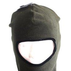 Militaria: PASAMONTAÑAS, 1 ORIFICIO, OLIVA, FORRO POLAR DE POLIÉSTER 10908B. Lote 206481241