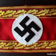 Militaria: BRAZALETE DE ALTO CARGO DEL PARTIDO NAZI NSDAP SEGUNDA GUERRA MUNDIAL. Lote 206578555
