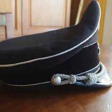 Militaria: GORRA DE OFICIAL DE LAS ALLGEMEINE SS, RÉPLICA. Lote 207012806