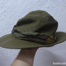 Militaria: ANTIGUO GORRO O SOMBRERO MILITAR A IDENTIFICAR. Lote 207027706