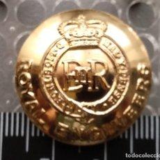 Militaria: BOTON INGENIEROS REALES INGLATERRA. Lote 207135575