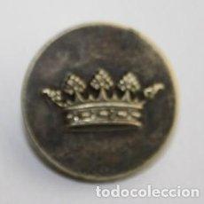 Militaria: 203,, BOTÓN NOBILIARIO CON CORONA CONDAL, REV. LATON. HECHO POR. A. RANZ ARENAL 11 26 MADRID RC.. Lote 207326031