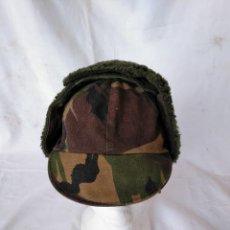 Militaria: GORRA MILITAR DE INVIERNO.. Lote 207364041
