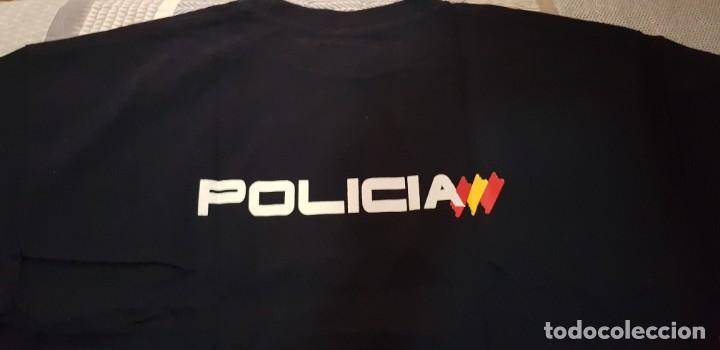 Militaria: Camiseta policía nacional, talla XXL, manga corta - Foto 2 - 207764492