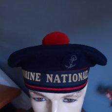 Militaria: MARINE NATIONALE. BOINA DE MARINERO DEL EJÉRCITO FRANCÉS.. Lote 208007385