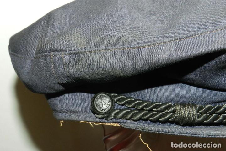 Militaria: ANTIGUA Y RARISIMA GORRA C.M..E. DE MARINA MERCANTE, ARMADA, OFICIAL MAQUINISTA, MAQUINAS, INSIGNIA - Foto 6 - 209105743