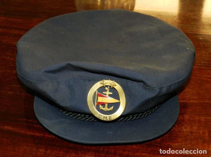 Militaria: ANTIGUA Y RARISIMA GORRA C.M..E. DE MARINA MERCANTE, ARMADA, OFICIAL MAQUINISTA, MAQUINAS, INSIGNIA - Foto 17 - 209105743