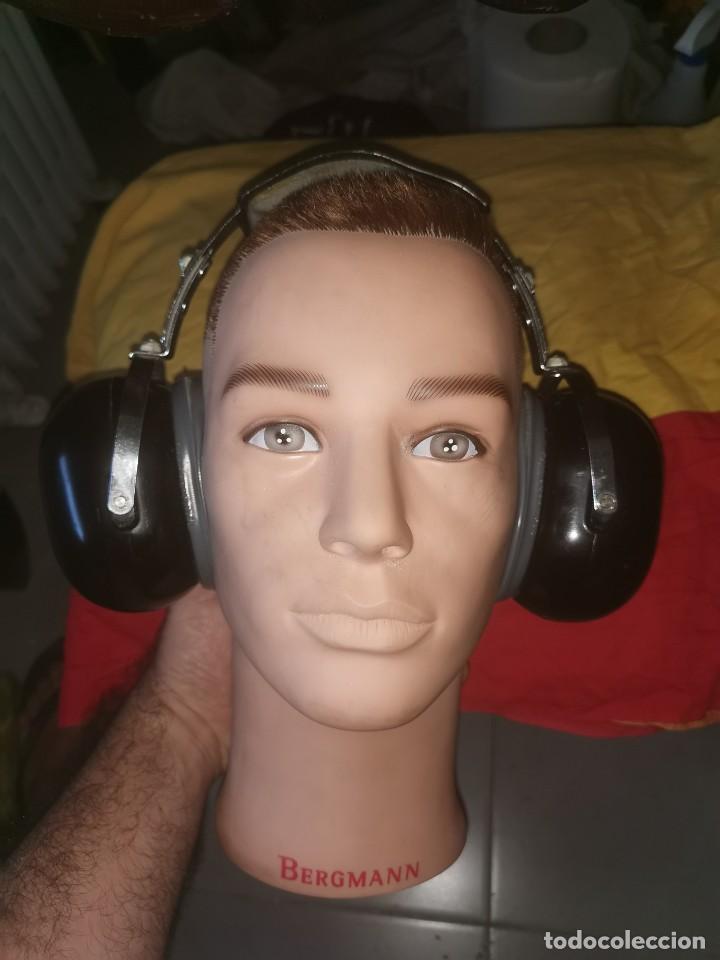 Militaria: Cascos protector sonido. Aviación. Profesionales. David Clark. Model 372-9AN/2 - Foto 2 - 209817775