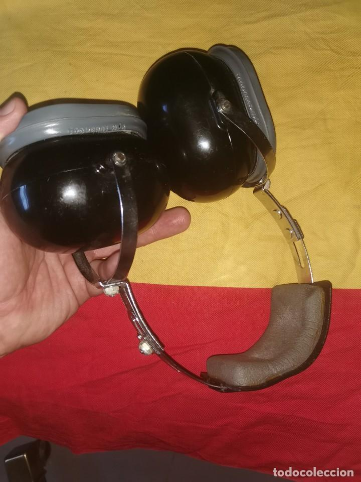 Militaria: Cascos protector sonido. Aviación. Profesionales. David Clark. Model 372-9AN/2 - Foto 3 - 209817775