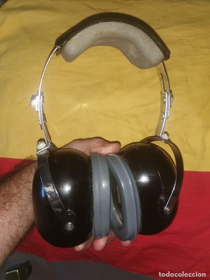 Militaria: Cascos protector sonido. Aviación. Profesionales. David Clark. Model 372-9AN/2 - Foto 4 - 209817775
