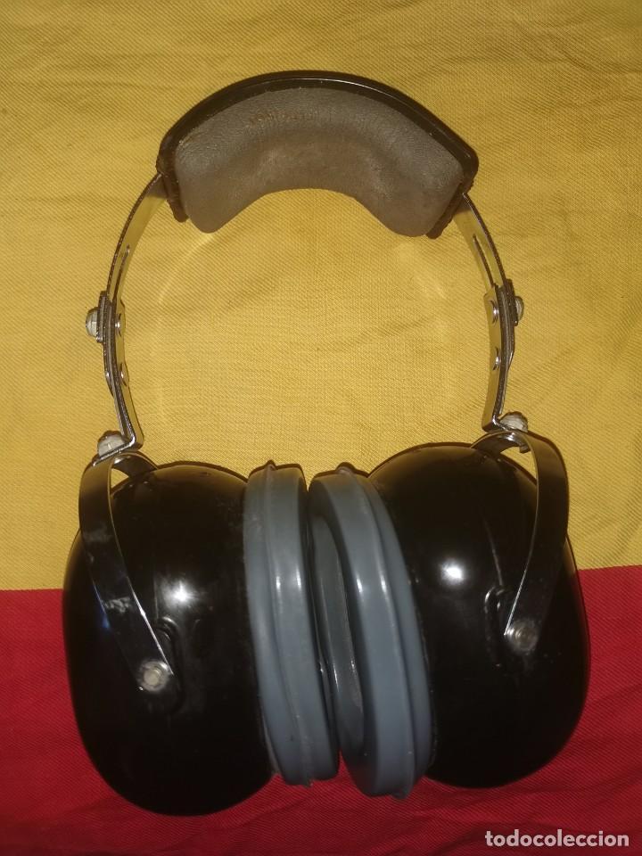 Militaria: Cascos protector sonido. Aviación. Profesionales. David Clark. Model 372-9AN/2 - Foto 5 - 209817775