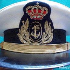 Militaria: GORRA OFICIAL DE LA ARMADA MARINA. Lote 209994317