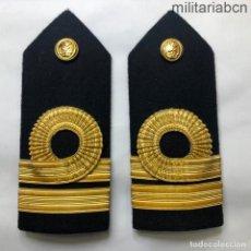 Militaria: ESPAÑA. HOMBRERAS O PALAS DE TENIENTE DE NAVÍO. PERÍODO JUAN CARLOS I.. Lote 210570040