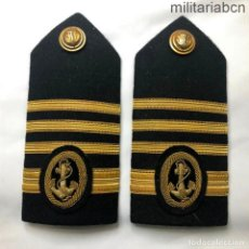 Militaria: ESPAÑA. HOMBRERAS O PALAS DE 1ER OFICIAL, CAPITÁN DE LA MARINA MERCANTE ESPAÑOLA.. Lote 210570787