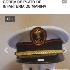 Militaria: GORRA PLATO INFANTERÍA. Lote 211521345