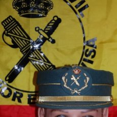 Militaria: GORRA TERESIANA GUARDIA CIVIL SUBOFICIAL: SARGENTO BRIGADA SUBTENIENTE 2ª VARIANTE-02 TALLA 58. Lote 211729176
