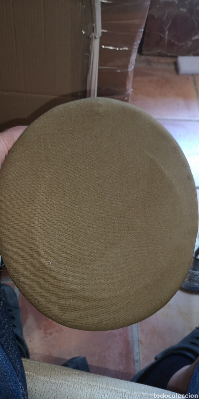 Militaria: Antigua gorra de plato del Ejército de Tierra de la época de Franco graduación de Coronel - Foto 5 - 211871805