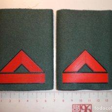 Militaria: HOMBRERAS GUARDIA CIVIL. Lote 211901192