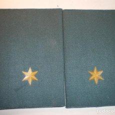 Militaria: HOMBRERAS GUARDIA CIVIL. Lote 211901261