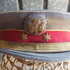 Militaria: GORRA DE PLATO DE TENIENTE DE POLICÍA GRISES. Lote 213013180