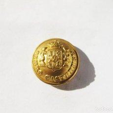 Militaria: BOTÓN GRANDE DORADO DEL CLERO CASTERENSE - ALFONSO XIII - 22 MM DE DIAMETRO. Lote 213185320