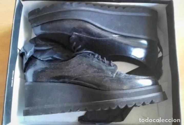 Militaria: Zapatos tipo Derby u Oxford talla 40 con caja original marca Sixtyseven - Foto 3 - 213478361
