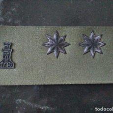 Militaria: PARCHE TENIENTE INGENIEROS. Lote 213718731