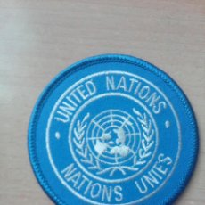 Militaria: PARCHE BRAZO UNITED NATIONS NATIONS UNIES. Lote 213918406