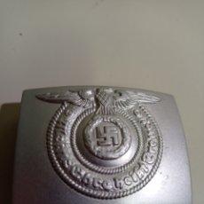 Militaria: HEBILLA DE CINTURÓN NAZI, REPRODUCCIÓN DEL ORIGINAL.. Lote 214565315