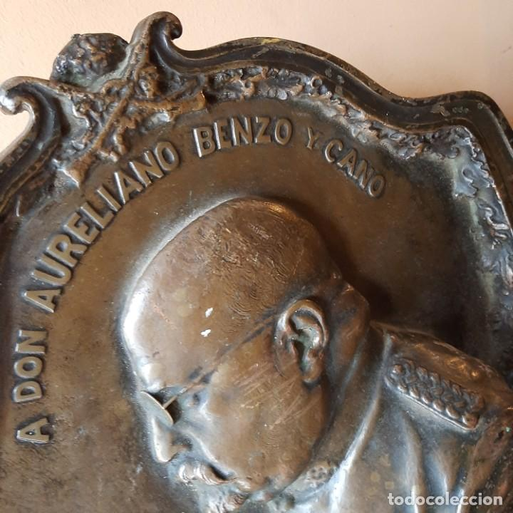 Militaria: Bronce artístico a un militar de Cadiz - Foto 8 - 214604346