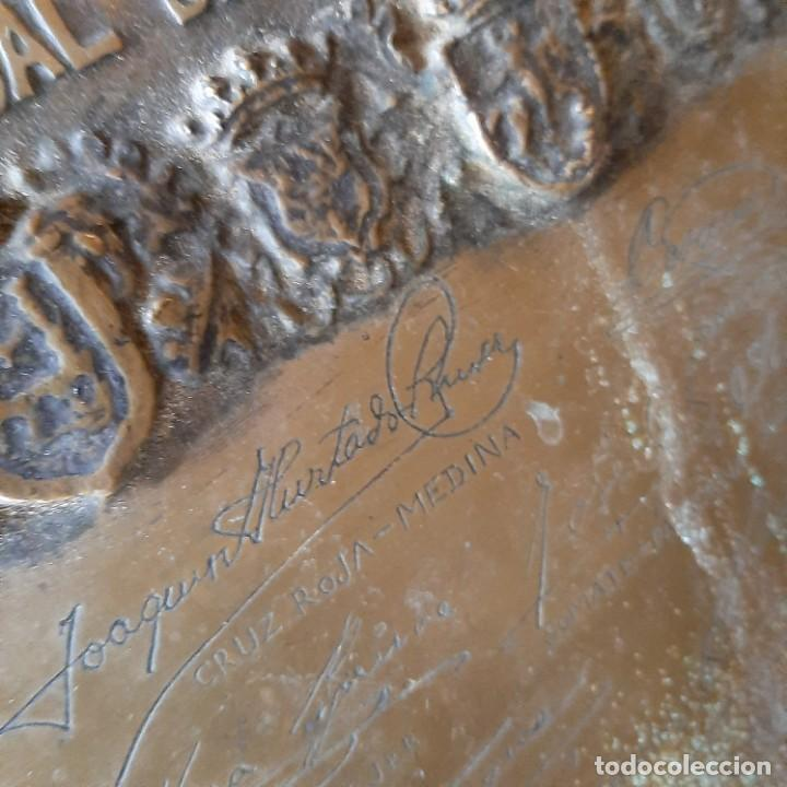 Militaria: Bronce artístico a un militar de Cadiz - Foto 13 - 214604346