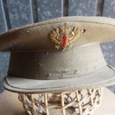 Militaria: GORRA PLATO, SARGENTO, ÉPOCA DE FRANCO. Lote 33360528