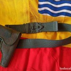 Militaria: CINTURÓN Y PISTOLERA DE SERVICIO DE LA GUARDIA CIVIL.. Lote 216083037
