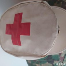 Militaria: GORRA CRUZ ROJA,HULE BLANCA. Lote 217118118