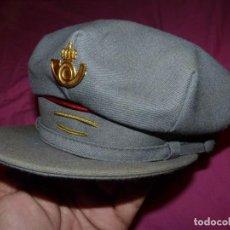 Militaria: GORRA DE PLATO CARTERO CORREOS Y TELEGRAFOS AÑOS 70 ORIGINAL COLECCION. Lote 259745220