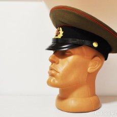 Militaria: ANTIGUA GORRA DE USO MILITAR SOVIÉTICA .UNIÓN SOVIÉTICA URSS .. Lote 217814980