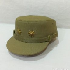 Militaria: GORRA FAENA O CAMPAÑA MARCA M. VALLE TENIENTE CORONEL EJÉRCITO ESPAÑOL AÑOS 70 EN PERFECTO ESTADO. Lote 218302501