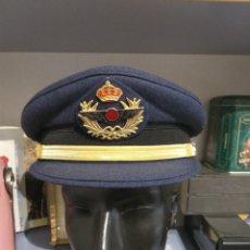 Militaria: ESPAÑA. GORRA DE PLATO DE AVIACIÓN. SUBOFICIAL. REGLAMENTO DE 1986. ÉPOCA JUAN CARLOS I. Lote 218319328