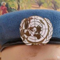Militaria: BOINA AZUL. NACIONES UNIDAS. Lote 263156320