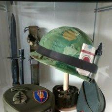 """Militaria: GORRA """"RIDGEWAY"""" AMERICANA. GUERRA DE COREA Y VIETNAM. TENIENTE TROPAS AIRBORNE. Lote 218922576"""
