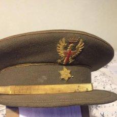 Militaria: GORRA MILITAR ESPAÑOLA ANTIGUA - OFICIAL. Lote 219009331