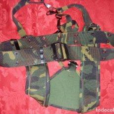 Militaria: CINTURÓN Y TRINCHAS MIMETIZADO EJERCITO DE TIERRA.. Lote 219180332