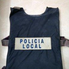 Militaria: ANTIGUO CHALECO ANTIBALAS POLICIA LOCAL. Lote 219591470