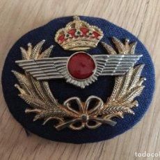 Militaria: GALLETA DE GORRA DE OFICIAL DE LA AVIACIÓN. Lote 219672882
