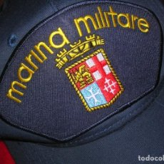 Militaria: BONITA GORRA TALLA AJUSTABLE DE LA MARINA DE GUERRA ITALIANA. MARINA MILITARE.. Lote 219889975
