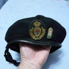 Militaria: BOINA REGIMIENTO DE CABALLERIA SANTIAGO - BRIGADA JARAMA. Lote 219579658