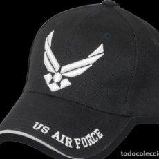 Militaria: GORRA EJERCITO US AIR FORCE BORDADA TALLA UNICA. Lote 237190355