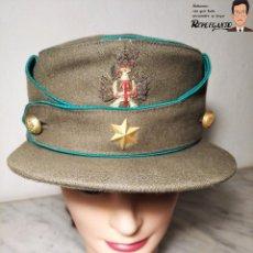 Militaria: GORRA DE PASEO DE ALFÉREZ (CAZADORES MONTAÑA) TALLA 57 - ÉPOCA FRANQUISTA - FANTÁSTICO ESTADO. Lote 220837481