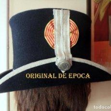 Militaria: (JX-201072)SOMBRERO DE GALA DE LOS MOZOS DE ESCUADRA DE CATALUÑA .. Lote 221244913